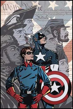 Recipient of the Super-Soldier serum, World War II hero Steve Rogers fights for American ideals as one of the world's mightiest heroes and the leader of the Avengers. Marvel Comics, Marvel Avengers Assemble, Marvel Comic Books, Comic Book Characters, Marvel Characters, Comic Books Art, Comic Art, Book Art, Hawkeye Avengers