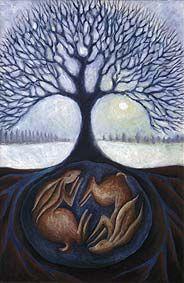 Hares by Hannah Giffard