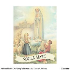 Personalized Our Lady of Fatima Fleece Blanket - home gifts ideas decor special unique custom individual customized individualized Blessed Mother Mary, Blessed Virgin Mary, Fleece Blanket Diy, Fleece Blankets, Lady Of Fatima, Images Vintage, Holy Rosary, Picnic In The Park, Christmas Card Holders