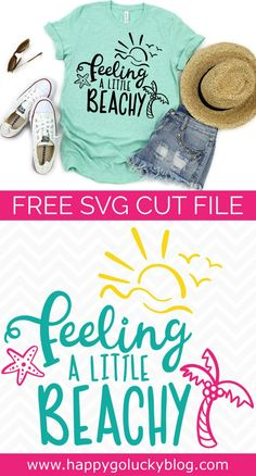 Feeling a Little Beachy {Beach SVG Cut File Collection Feeling a Little Beachy {Beach SVG Cut File Collection} The post Feeling a Little Beachy {Beach SVG Cut File Collection appeared first on Design Diy. Free Font Design, Design Logo, Graphic Design, Cricut Air, Cricut Vinyl, Free Svg, Silhouette Cameo Projects, Silhouette Cameo Shirt, Silhouette Machine