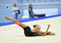 Alexandra SOLDATOVA (Russia) ~ Training Ball routine @ WC Kazan 2016   Photographer Oleg Naumov.