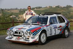 1985 Lancia Delta Rally Campaigned by both Lancia and Jolly Club in the iconic Martini livery. Lancia Delta, Auto Motor Sport, Sport Cars, Race Cars, Subaru Rally, Rally Car, Vintage Racing, Vintage Cars, Nissan Gtr R34