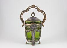 #lavishshoestring  vintage beautiful biscuit jar