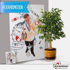 """#ExaPromotion:  La """"Toile de peintre"""" est dans notre Promo-Hiver!!  Imprimez vos créations et vos photos directement sur une toile Canvas pour leur donner un rendu très original, similaire à celui d'une toile de peintre. Soyez design!"""