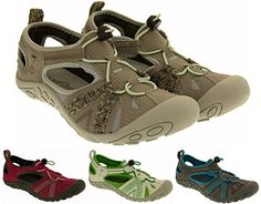"Northwest Territory Damen Low-top ""Carolina"" geschlossene Zehe Walking / Wanderungen schnitten Sandalen - http://on-line-kaufen.de/footwear-studio/northwest-territory-damen-low-top-carolina-zehe"