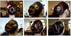 Haarschmuck-Tests beim LHN Treffen