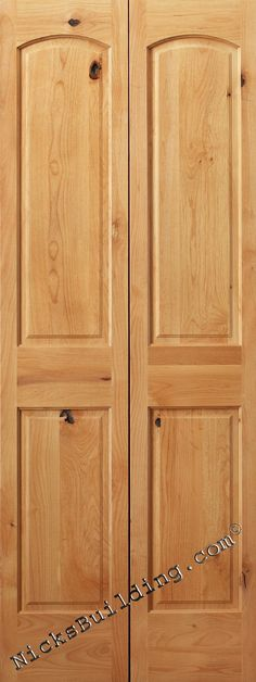 Reliabilt Louverpanel Solid Core Pine Bifold Closet Door Common