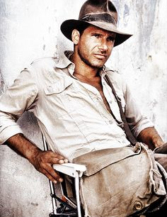 Harrison Ford as Indiana Jones.  Warning: the attached pins on this page are x-rated!