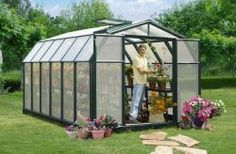 Hobby Gardener 8x12 Premium with Mounting Base and Accessories