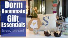 DIY Dorm Room Gift Essentials | Metallic State Shape Cups | Sorority Sis...