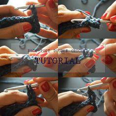 Back post double crochet tutorial