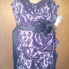 Deb Formal dress Size 9 New with tags Deb formal / prom dress size 9, colors purple and black Deb Dresses Prom