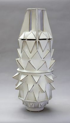 """Africa By Frank Barron  Throne & Hand Built Stoneware Cone 10 clay & glaze fired to cone 5.  21"""" x 10"""" x 10"""" 2013"""