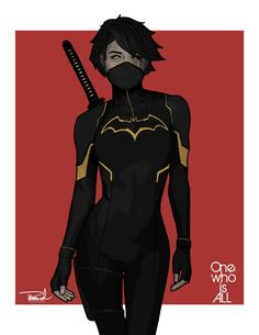 Black Bat aka Cassandra Cain. Picked up a commission with Cass in it and it got the wheels turning. Pieced this from previous redesigns I...