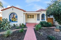 2120 Cedar Avenue , Long Beach , CA, 90806 Spanish Bungalow, Spanish Style Homes, Spanish Revival, Spanish House, Bungalow Exterior, Bungalow Homes, Cedar Avenue, Adams Homes, Spanish Garden