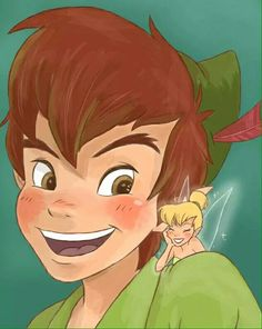 I have been shipping Peter Pan and Tinkerbell since I´ve got memory. I hated Wendy with all my soul Tinkerbell Disney, Peter Pan And Tinkerbell, Cute Disney, Disney And Dreamworks, Disney Pixar, Peter Pan Film, Disney Peter Pan, Nickelodeon Cartoons, Disney Kunst