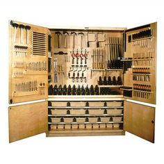 "Shain 84"" H x 60"" W x 22"" D Storage Cabinet Tools: Not Included"