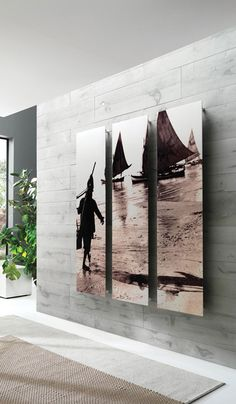 Frame Picture radiators are made in painted carbon steel using a unique and everlasting painting process. Radiators with your favourite pictures, forever imprinted on the surface.