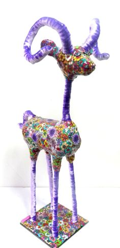 polymer clay deer