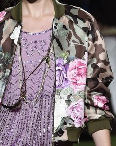Prints, Patterns And Surface Effects: Beautiful Details From Milan Fashion Week (Woman Collections Spring/Summer 2015) / 4