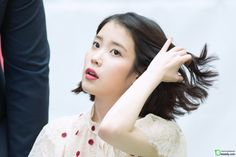 170507 IU Palette Fansign @ Time Square by Dooooly