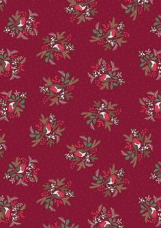A Christmas fabric range featuring snowflakes to Christmas Robins. Perfect for quilts, cushions & more. Christmas Fabric, Winter Christmas, Christmas Crafts, Xmas, New Forest, Ticking Stripe, Woodland Animals, Paper Background, Winter Collection
