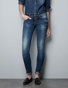 'SEMI PUSH UP' JEANS