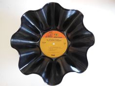 JIMI HENDRIX Recycled Record Bowl Electric by RecordsAndStuff, $10.00