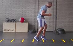 Here's why every single guy should do speed ladder drills