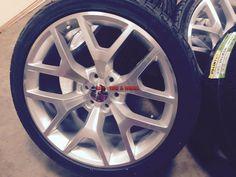 "24"" GMC Sierra OE Style Wheels Silver Rims Denali Yukon Silverado Tahoe 26 28 · $989.99 Denali Yukon, 24 Rims, Wheels, Silver, Style, Swag, Outfits, Money"