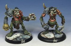 James Wappel Miniature Painting: The Mighty Mimes of Moria take the field!