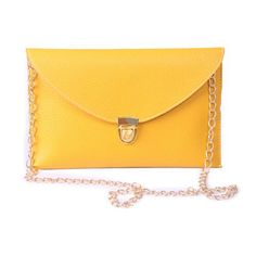 New Trending Clutch Bags: HDE Womens Envelope Clutch Purse Handbag (Yellow). HDE Women's Envelope Clutch Purse Handbag (Yellow)   Special Offer: $5.95      299 Reviews Your handbag is not just a place to store your stuff. Your handbag is a fashion accessory that speaks for you, so make sure your message comes through loud and clear. With this must-have...