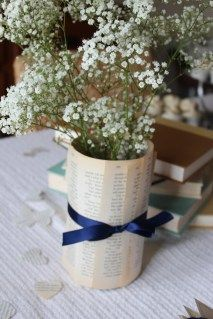 Repin if you love this vase idea, bookworms! http://writersrelief.com/