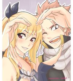 ITS NALU DAY SO I AM GONNA LET MYSELF REPIN NALU FAN ART THAT I WOULDNT USUALLY PIN