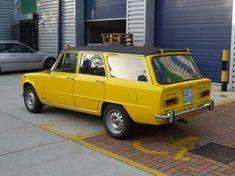 1973 Alfa Romeo Giulia Super Introzzi Colli Wagon For Sale Rear