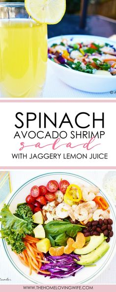 This filling entrée salad makes an amazing lunch or dinner meal that is not only healthy, but also delicious! This one is my favorite go-to meal that is refreshing and light and perfect for the warm spring/summer days. With its elegant colorful color combos, this appetizing dish is also great for entertaining guests!