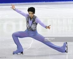 News Photo : Japanese Olympic champion Yuzuru Hanyu performs...