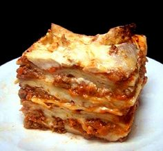 Lasagna Bolognese- I'll admit, I will probably never cook this- but I would love to eat it!