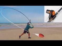 26ee8b4b25 TESTE de ARREMESSO - DIFERENÇA no ARREMESSO entre linha 0.35mm vs 0.18mm ◇  Dicas de Pesca de PRAIA