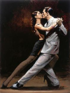 The tango - definitely a dance to share with someone you love.