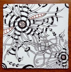 """Shelly Beauch: Arukas 1-2-3 WEEKLY CHALLENGE #197: """"NEW OFFICIAL TANGLE - ARUKAS"""""""