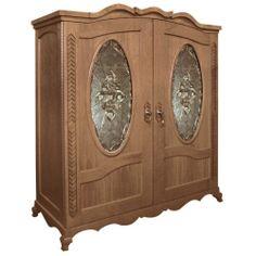 Vinotemp Vino-louis-ma 400 Bottle Louis Wine Cellar - Glass Doors / Mahogany Cabinet
