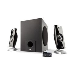 6a2e018a410 Cyber Acoustics 18W 2.1 Multimedia Speaker System with Subwoofer, Black