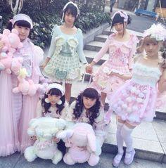 Pastel Japanese fashion