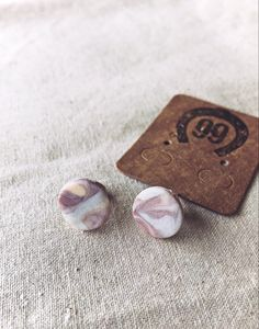 Free Shipping! Handmade one of a kind jewellery at 99 Farm Gift Shop Handmade Jewellery, Earrings Handmade, Unique Jewelry, Handmade Gifts, Girls Jewelry, Women Jewelry, Pink Marble, Handmade Polymer Clay, Trending Outfits