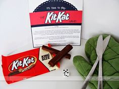 Free printable rules for The Kit Kat game- my kiddos would love this.   (It would make a fun gift idea too)