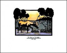 Moose and Magpie - Sivertson.com - Sarah Angst Fine Artist & Printmaker