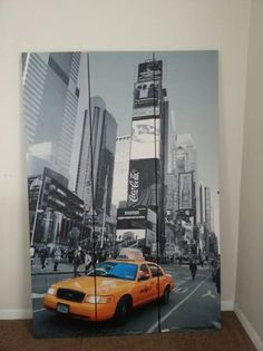 NYC Time Square photo on a tall room divider screen. New York City Location, Room Divider Screen, Square Photos, 21st Century, Times Square, Nyc, In This Moment, Pictures, Photography