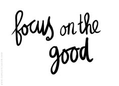 Focusing on your best features keeps your mind aware of how amazing you are.  We all have faults so focus on the good and enjoy yourself!