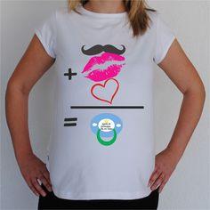 Camisetas para Embarazadas Divertidas - Suma niño